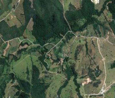 semente orgânica - Mapa da fazenda